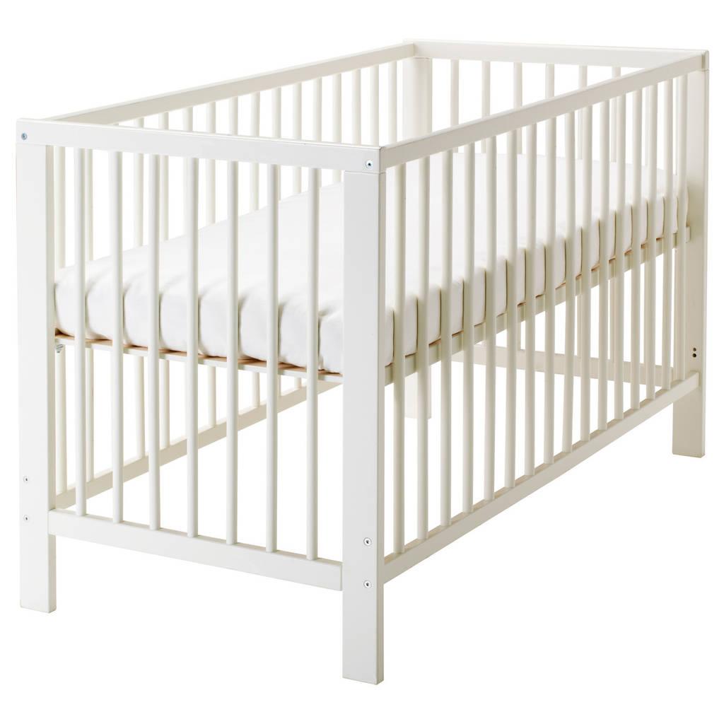 детская кровать Ikea Gulliver белая 10248519 купить по лучшей