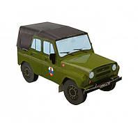 Картонная модель УАЗ 31512 Пограничные войска 135-01 УмБум