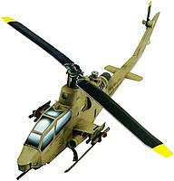 Картонная модель Вертолет Кобра песочный 190-02 УмБум