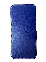 Чехол Status Book для Fly IQ4416 Era Life 5 Dark Blue