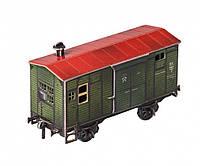 Картонная модель Временно - багажный вагон 278 УмБум