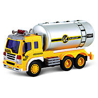 Игрушечные машинки и техника «Junior trucker» (33022) автоцистерна, 28 см