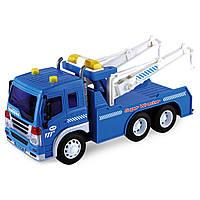 Игрушечные машинки и техника «Junior trucker» (33013) автомобиль технической помощи, 28 см