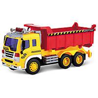 Игрушечные машинки и техника «Junior trucker» (33024) самосвал, 28 см
