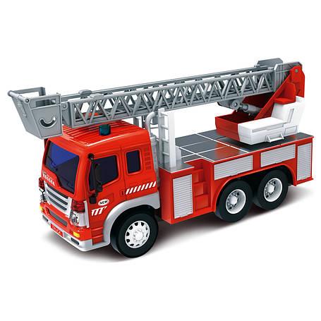 Пожарная автолестница, 28 см «Junior trucker» (33015), фото 2
