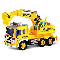 Игрушечные машинки и техника «Junior trucker» (33011) экскаватор, 28 см