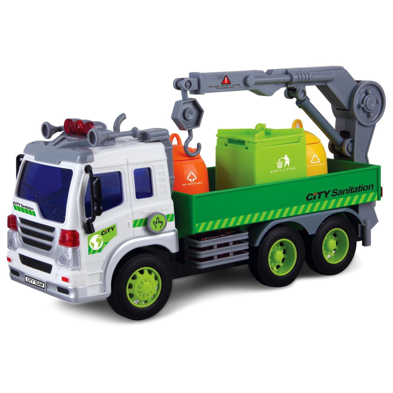 Мусоровоз, 28 см «Junior trucker» (33017)