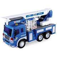 Игрушечные машинки и техника «Junior trucker» (33019) автомобильный кран, 28 см