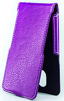 Чехол Status Flip для Lenovo A800 Purple