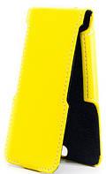 Чехол Status Flip для Lenovo A800 Yellow