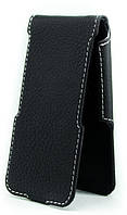 Чехол Status Flip для LG L80 D380 Black Matte