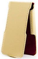 Чехол Status Flip для LG Optimus L5 Dual E612, E615 Beige