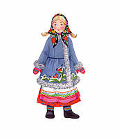 """Игровой набор для девочек из  картона: (наряжай - и играй). Кукла """"Аленушка"""""""