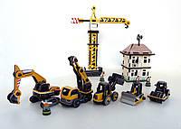 Набор картонных моделей Большая стройка 191 УмБум