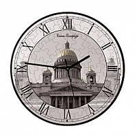 """Сборная пазл-игрушка Часы """"Исаакиевский собор"""" (с часовым мех.) Материал: картон + изолон"""
