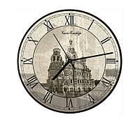 """Сборная пазл-игрушка Часы """"Спас"""" (с часовым мех.) Материал: картон + изолон"""