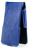 Чехол Status Flip для Samsung Galaxy W I8150 Dark Blue