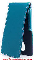 Чехол Status Flip для Samsung Omnia W I8350 Turquoise