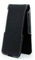 Чехол Status Flip для Samsung Galaxy Ace 2 i8160 Black Matte