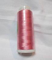 Нитки для машинної вишики 100% віскоза (100% rayon) 3000 метрів, №127, рожевий