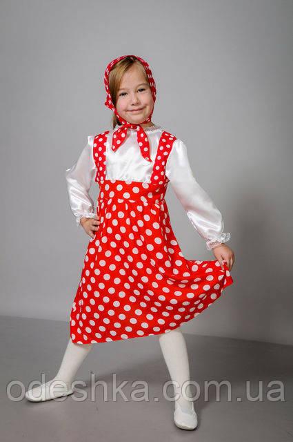 Дитячий карнавальний костюм Маші
