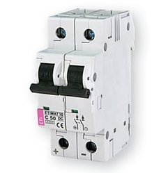Автоматичний вимикач ETIMAT 10 DC 2p C 40A (2138720)