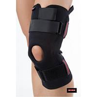 Бандаж с ребрами жесткости на коленный сустав, полуоткрытый, Basis Active PT0923