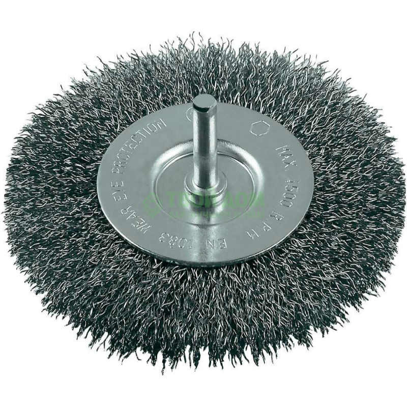 Щетка дисковая Bosch 75х10x6 мм сталь