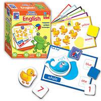 Игра настольная Английский язык на магнитах Животные VT1502-16 (укр)