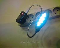 Usb лампа на 13 led диодах на гибкой ножке с блоком питания