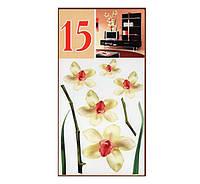 "ArtDecor № 15 ""Белые орхидеи"""
