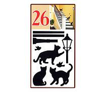 """ArtDecor № 26 """"Коты под фонарем"""""""