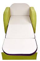"""Детский раскладной диван """" Пеппа """" с принтом (сп. место 1900х700), фото 1"""
