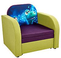 """Дитячий диван """"Пеппа"""" з принтом"""