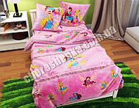 """Ткань для постельного белья Бязь """"Gold"""" Lux детская GLB052 (50м)"""