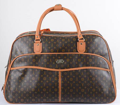 13c66699ac56 Дорожный саквояж женский JMS big 50 л, серый/коричневый — только ...