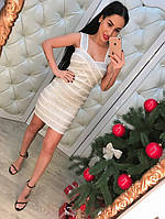 """Эксклюзивная коллекция! Модное, женское платье-мини """"Утяжка класса люкс""""  РАЗНЫЕ ЦВЕТА"""