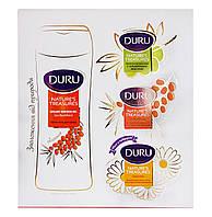 Подарочный набор коллекция Duru Nature's Treasures Облепиха (крем-гель для душа+мыло)