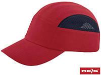 Каска-кепка (каскепка) защитная промышленная RAW-POL Польша BUMPCAPMESH CG
