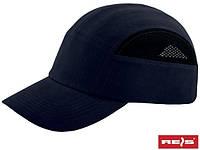 Каска-кепка (каскепка, каскетка) защитная промышленная RAW-POL Польша BUMPCAPMESH G