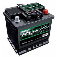 Автомобильный Аккумулятор GigaWatt Ач Гигават 45 Ампер