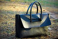 Стильная сумка женская, черная