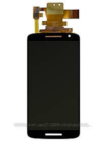Модуль (Дисплей + сенсор) Motorola XT1562 with touch black