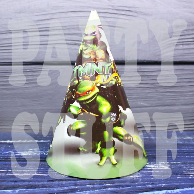 колпачки праздничные Черепашки ниндзя