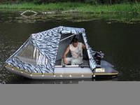 Тент для лодки, катера, пошив/ изготовление и ремонт