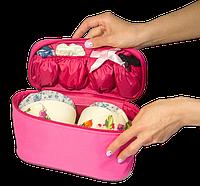 Туристический органайзер для белья ORGANIZE (розовый)