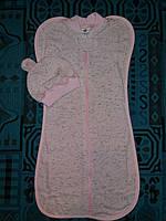 Европеленка или пеленка-кокон для новорожденных на байке