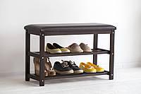 Банкетка для обуви с сиденьем «Виктория»
