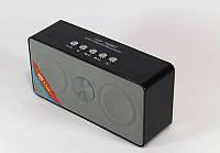 Колонки для телефона беспроводные WS 768 BТ, 2 динамика, 3Вт, USB, Bluetooth, FM, 145*69*44мм