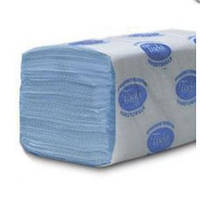 PRO service рушник паперовий макулатурні OPTIMUM CLEAN. V-складання, сині